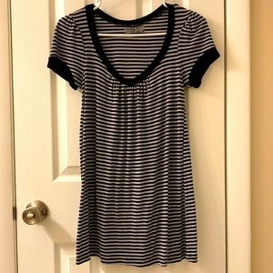 Michael Stars rayon/polyester striped top, OS